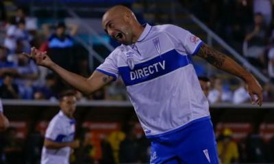 Santiago Silva por fin anotó por la Universidad Católica. Y fue por partida doble.