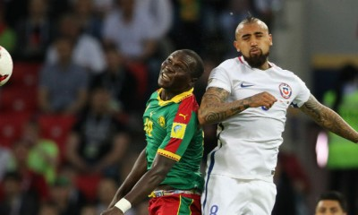 Chile debutó con un triunfo ante Camerún en la Copa Confederación.