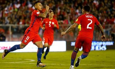 Chile le ganó a Ecuador y llega con chances a la última fecha de las clasificatorias.