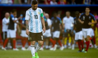 La leyenda de Messi parece terminar sin la Copa del Mundoa. Argentina fue eliminada por Francia y el crack nuevamente no brilló.