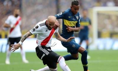 Boca River igualaron en el primer partido de la final de la Copa Libertadores. Ahora definirán todo en el Monumental.