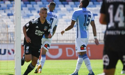 Gabriel Costa anotó el gol del triunfo de Colo Colo ante Antofagasta.
