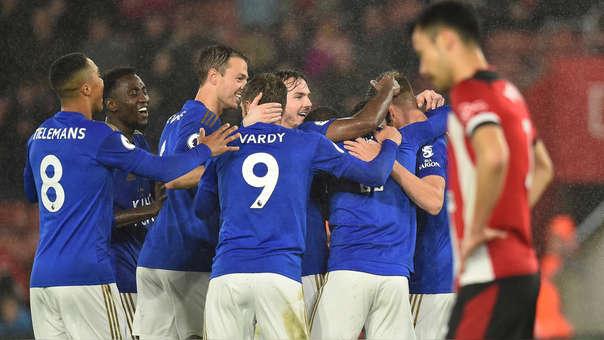 Leicester es finalista de la FA tras vencer al Southampton