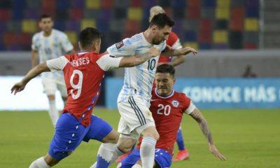Chile empató con Argentina 1 a 1