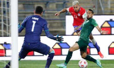 CHile consiguió un triste empate frente a Bolivia que nos deja en la parte baja de la tabla de posiciones