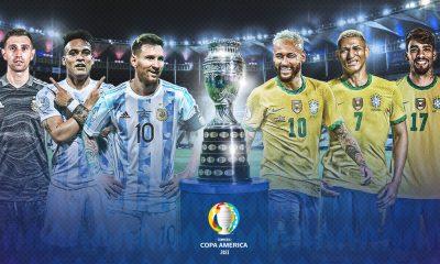 En Vivo Argentina vs Brasil Copa América 2021