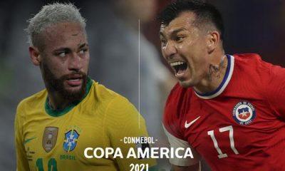 Chile vs Brasil en vivo Minuto a Minuto Copa América 2021