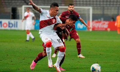 Perú venció a Venezuela por las clasificatorias