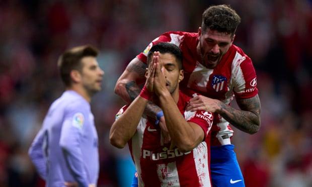 Luis Suárez fue figura y anotó un gol ante el Barcelona